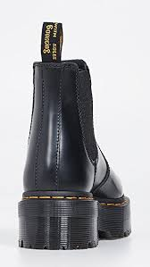 Since its creation in the 1960s, the classic dr martens eight eyelet boot was once an iconic footwear choice for punks, skinheads and working class rebels the world over. Dr Martens 2976 Quad Chelsea Boots Shopbop