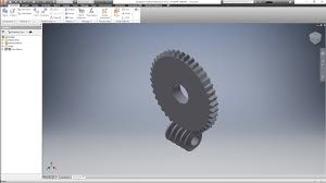 gears made in inventor