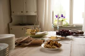 kitchen table with food. Exellent Food Breakfast Table Food Morning Brunch Kitchen To Kitchen Table With Food