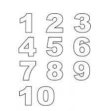 Disegno Di Numeri Da Colorare Per Bambini Disegnidacolorareonlinecom