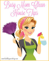 Busy Mom Clean House Tips