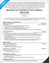 Bilingual Skills On Resume Examples – Primeflightsdirtysecrets ...