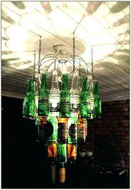 diy glass bottle chandelier chandeliersglass bottle chandelier beer photograph hanging beer bottle chandelier by glass bottle