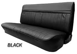 1981 87 fullsize chevy gmc truck front vinyl bench seat cover with 3 wide pleats chevy truck parts