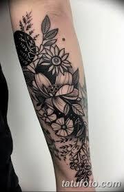 фото тату белые цветы18062019 105 Tattoo White Flowers