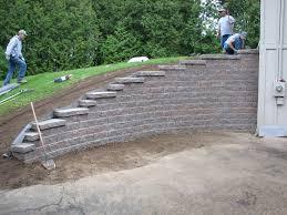 diy retaining wall blocks