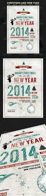 images about print templates program template christmas and new year flyer graphicriver christmas and new year flyer fully layered 1 psd