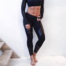 pu leather high waisted yoga leggings running leggings fiit24 com