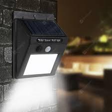 <b>Solar Power 20 LED</b> PIR Motion Sensor Wall Light Waterproof ...