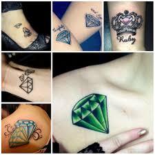Tatuaggio Diamante Significato E Galleria Fotografica