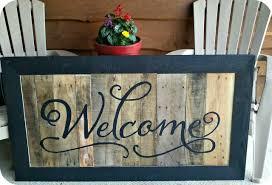 front porch signs diy