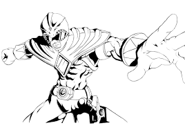 Mighty Morphin Power Rangers Coloring Pages Mighty Morphin Power