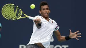 Felix Auger-Aliassime fell in straight sets in the Miami Open semifinals to  American John Isner on Friday, ending a potential all-C… | Tennis, Young  athletes, Felix