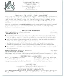 Childcare Resume Template Amazing Sample Resume Child Care Assistant Position Professional Template