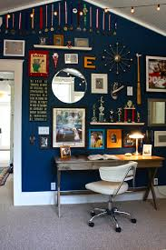 home office dark blue gallery wall. family photo wall collage kids traditional with gallery home office navy blue dark h