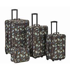 Womens Luggage Sets Designer Rockland Luggage Nairobi 4 Piece Luggage Set Rockland