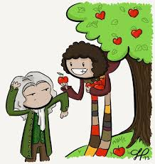 His most significant work involved forces and the development of sir isaac newton contributed significantly to the field of science over his lifetime. The Doctor And Isaac Newton By Gnasler On Deviantart