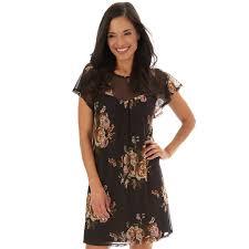 Womens Apt 9 Printed Shift Dress In 2019 Dresses Women