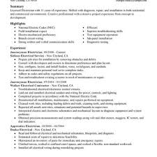Journeyman Electrician Resume Journeyman Electrician Resume 4