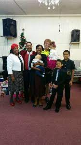 Holiness Born Again Church - Holiness Born Again Couples of the day Vice  Mayor of Miramar Darlene Riggs, her husband Officer Michael Riggs, and  family with Bishop and Evangelist James. | Facebook