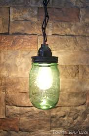 mason jar track lighting. Mason Jar Lighting Green Light Track Diy .