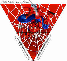 Spiderman Free Printable Boxes Dj Partyparty