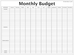 Free Printable Monthly Budget Planner Monthly Budget Planner Template Excel Monthly Budget Planner