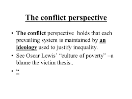 sociological paradigms on collective behaviour and social  42 the conflict perspective