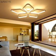 modern lighting. WANTYE Modern Lighting LED Ceiling Light Square For Dining Room Bedroom  Lamp Dimmable With Remote Modern Lighting