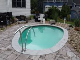 cool home swimming pools. Plain Cool Interesting Fact An 8u0027 Square Masonry Built Plunge Pool 54u201d Deep Holds  About 2100 Gallons Of Water A 14u0027 Foot Round Above Ground Pool 4u0027 Deep  For Cool Home Swimming Pools