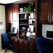 wall desks home office. Built In Desks Custom Desk Home Office Dual Into Wall