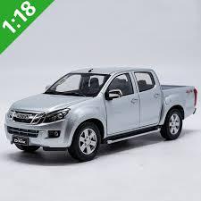 High simulation 1:18 ISUZU D MAX Alloy Pickup truck Model Metal Die ...
