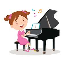 1,257 Piano Lesson Stock Vector Illustration and Royalty Free Piano Lesson  Clipart
