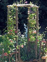 Small Picture How to Build a Wooden Arch Kit Wood arbor Arbors and Google search