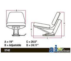 john deere yellow seat assembly for models 5400 5300 5200 5000sc john deere yellow seat assembly for models 5400 5300 5200