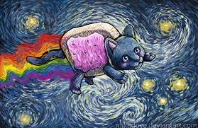 starry nyan by mikadove