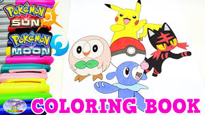 Small Picture Pokemon Sun Moon Coloring Book Pikachu Episode Speed Colouring