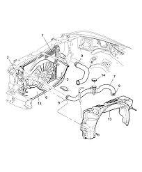 2001 dodge dakota radiator related parts thumbnail 3