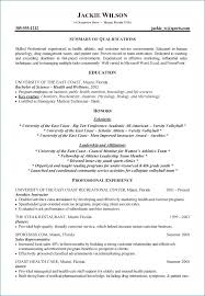 Student Athlete Resume New Student Athlete Resume Resumelayout