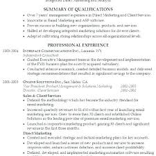 Resume Summary Template New Resume Examples Summary Of Qualifications Resume Summary Of