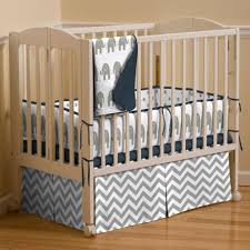 inspiring nursery navy and c crib set with preppy blue