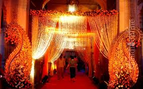 lighting decoration for wedding. A Wedding Venue Lined With Lights | Indian Decoration Ideas That Totally Rock Lighting For