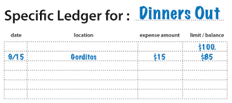 How To Create A Specific Ledger Debt Slapped Grad