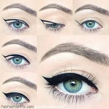 how to do cat eyeliner makeup look tutorial cateye cateeyeliner eyeliner