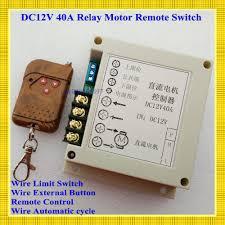 <b>DC 12V</b> 40A Motor <b>Remote Control</b> Switch High Power Motor <b>RF</b> ...