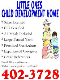 Samples Of Daycare Flyers Daycare Advertisement Samples Daycare Advertising Examples