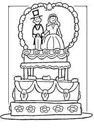 Printable Wedding Coloring Pages Kontaktimproorg