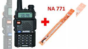 Рация <b>Baofeng uv</b>-<b>5r</b> + антенна <b>na</b>-<b>771</b> купить в Туле | Бытовая ...