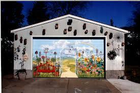garage door muralsBonnie Siracusa  Murals  Fine Art