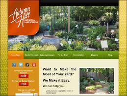Plant Nursery And Gardening Website Design GhostNet Inc New Garden Web Design Design